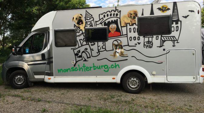 Mein Zuhause… meine Monschterburg im neuen, coolen Look !
