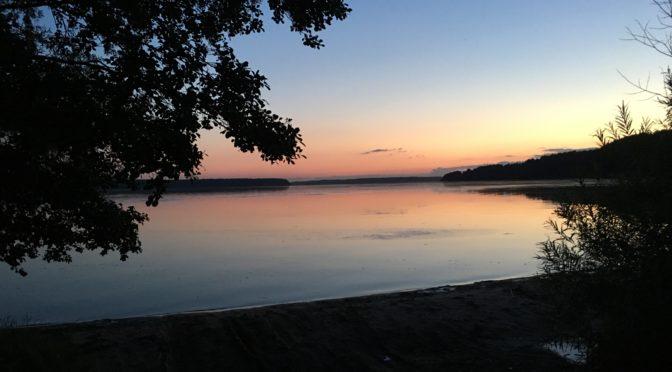 Ich geniesse die Ruhe am See und die traumhafte Natur…